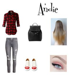http://www.polyvore.com/cgi/app by kikab68 on Polyvore featuring beauty, MANGO, LE3NO, H&M and Charlotte Olympia