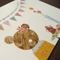 Personalised Teddy Bear Tea Party Birthday Invitations £12.00