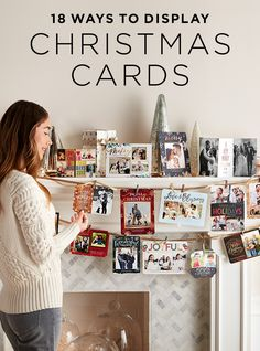 Superieur 18 Ways To Display Christmas Cards In 2018