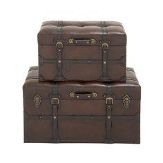 2-Piece Meredith Storage Trunk Set