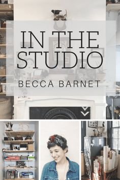 In The Studio: Becca Barnet #hkpowerstudio #inthestudio #studioorganizing #artiststudio