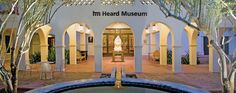 """The internationally acclaimed Heard Museum is one of the best places to experience the myriad cultures and art of American Indians of the Southwest. Located on Central Avenue in downtown Phoenix, the museum hosts 200,000 visitors a year and """"provides Indian artists with a wonderful home that will excite and inspire visitors from around the world,"""" according to Arizona Highways. The museum's 11 spacious exhibit galleries and beautiful outdoor courtyards feature outstanding tradit..."""