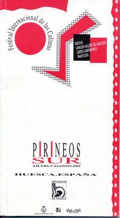 Cartel Pirineos Sur 1992 (edicion I)