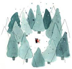 Plume et Pinceau - Les Anges gardiens de Noël