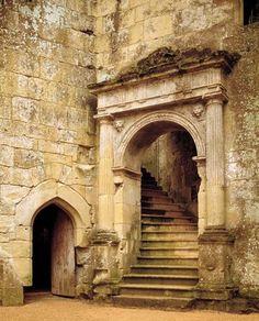 Old  Wardour Castle - Tisbury, Wiltshire, England.