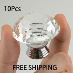 $16.30 (Buy here: https://alitems.com/g/1e8d114494ebda23ff8b16525dc3e8/?i=5&ulp=https%3A%2F%2Fwww.aliexpress.com%2Fitem%2FPopular-hardware-10pcsX-40mm-Diamond-Shape-Clear-Transparent-Crystal-Glass-Drawer-Cabinet-Pull-Handle-Knob-Free%2F32686413160.html ) Popular hardware 10pcsX 40mm Diamond Shape Clear Transparent Crystal Glass Drawer Cabinet Pull Handle Knob Free Shipping SJ-1010 for just $16.30
