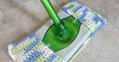 Happy Earth Day everyone! In celebration, I decided to come up with a pattern for a reusable swiffer cover, to prevent excess waste from usi...