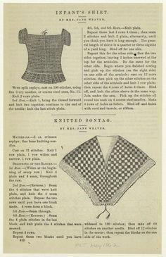 Knitting Pattern Categories