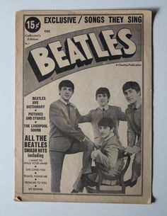For Sale: Smashing, Super, And Fab vintage Beatles magazine. Spring 1964. First Edition.