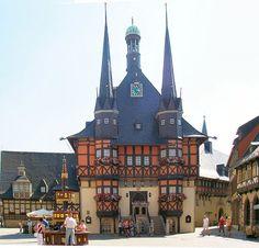 Prefeitura em Wernigerode, Alemanha