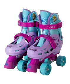 Another great find on #zulily! Frozen Classic Quad Roller Skates by Frozen #zulilyfinds