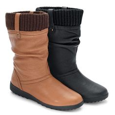 Shop for Women's 'Vienna Waterproof Leather Boots by Cougar at ShopStyle. Canada Shopping, Only Shoes, Only Fashion, Leather Boots, Vienna, Heels, How To Wear, Stuff To Buy, Diva