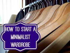 how to start a minimalist wardrobe