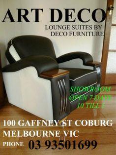 deco lounges made by deco furniture 100 gaffney st coburg melbourne phone 03 93501699 facebook deco furniture coburg website www.decofurniture...  www.facebook.com/DecoFurniture.com.au.