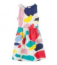 Sea Spray Silk Dress