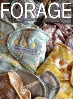 The new FORAGE line looks so fun and earthy. #clothdiapers!!! I am about to get in trouble!!