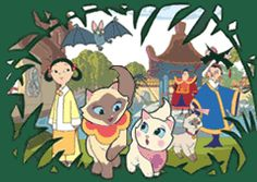 SAGWA The Chinese Siamese Cat introduces Chinese culture to children - PBS KIDS