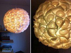 diy lamp cupcake