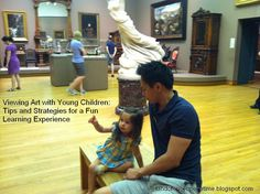 Viewing Art with Young Children: Tips and Strategies for a Fun Learning Experience