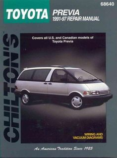 Nice Toyota 2017: Chilton's Toyota Previa 1991-97 Repair Manual (Paperback)   Overstock.com Shopping - The Best Deals on Automotive  Products Check more at http://carsboard.pro/2017/2017/03/02/toyota-2017-chiltons-toyota-previa-1991-97-repair-manual-paperback-overstock-com-shopping-the-best-deals-on-automotive-products/