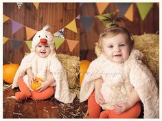 Halloween mini sessions - mini hay bale