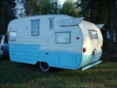 vintage Shasta trailers