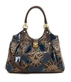 Brahmin Fresco Collection Elisa Hobo Bag #Dillards- Proof I have expensive taste