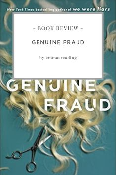 Genuine Fraud- E. The book starts at the end and with every chapter, you go back in time and discover more secrets. We Were Liars, Plot Twist, Book Reviews, Thriller, My Books, Love You, Reading, Te Amo, Je T'aime