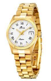 Reloj de mano de oro puro