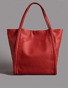 4e32ab8ed63 Leather Tote Bag Shoulder Bag