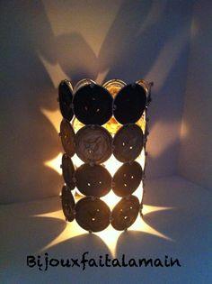 DIY Nespresso: comment-faire une lanterne en capsules.