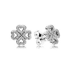 Petals of Love, Clear CZ - 290626CZ