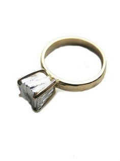 My dream engagement ring.  I just want a chunk of metal instead of a diamond.
