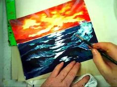 Ginger Cook's Ocean Waves and Translucent Waters Master Class - YouTube