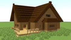 Minecraft: how to build big wooden house easy minecraft houses, minecraft videos Minecraft Houses For Girls, Minecraft Houses Xbox, Minecraft Houses Survival, Minecraft House Tutorials, Minecraft Houses Blueprints, Minecraft House Designs, Minecraft Videos, House Blueprints, Minecraft Buildings