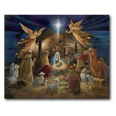 Religious Cross Stitch Patterns, Nativity Painting, Canvas Wall Art, Canvas Prints, Christmas Canvas, Christmas Jesus, Christmas Glitter, Christmas Nails, Merry Christmas