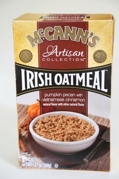McCann's Pumpkin Pecan With Vietnamese Cinnamon Irish Oatmeal