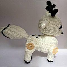 Miniature Dog Amigurumi kawaii 6 cm micro Key door Made Hand crochet unique craft gift collection