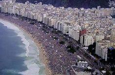 Jornada da juventude!  2014 praia de copacabana Rio deJaneiro