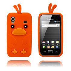 Chicken (Oransje) Samsung Galaxy Ace Deksel
