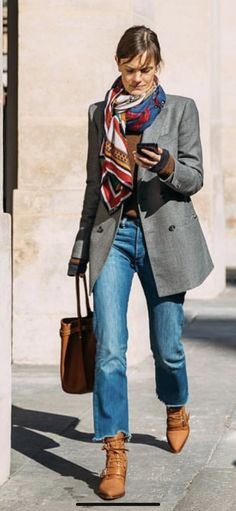 Classic but chic outfit