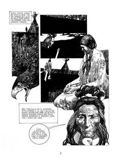 más caprichos de comic: LITTLE BIG HORN según SERGIO TOPPI