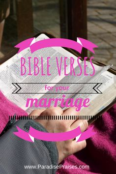 Need a biblical perspective? Need some encouragement? These Bible verses on marriage have been a huge blessing to me. Marriage Quotes From The Bible, Bible Verses About Relationships, Marriage Bible Verses, Bible Verses About Love, Marriage Prayer, Biblical Marriage, Strong Marriage, Marriage Advice, Love And Marriage