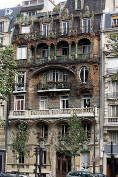 balconies, Paris, France - Paris has this amazing feeling that I miss so much!! and the air smells like potpurri :-)