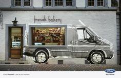 Ford usa graffiti para promocionar su nueva camioneta