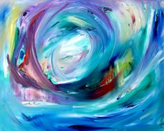 """""""Vibrancy of Infinity""""   20""""X24"""" Oil on Canvas   Soul Commission"""