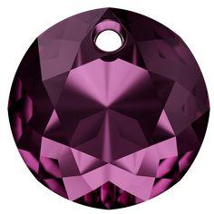 SWAROVSKI® 6430 Classic Cut Pendant (204 Amethyst) Swarovski Uk, Crystal Beads, Crystals, Summer Collection, Innovation, Amethyst, Spring Summer, Pendant, Classic