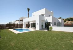 Design villa for sale in Estepona.These individually designed villas give new meaning to the concept of luxury living.