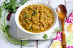 Instant Pot Chanya Tonak | Goan Dry Peas Curry | Tondak