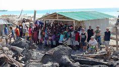 First Hurricane Shelter Home built in Port Salut Tammy Love, Haiti, Shelter, Image